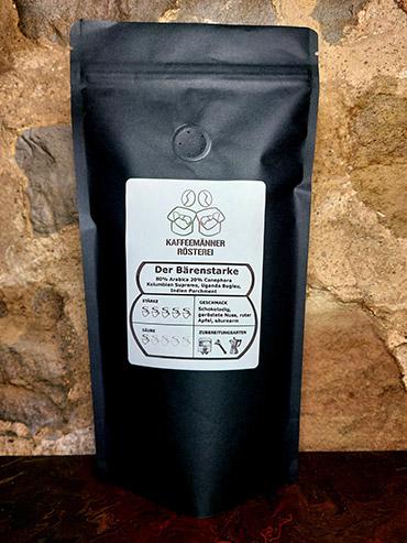 Kaffeeröstung der Bärenstarke