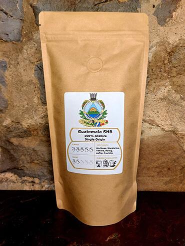 Guatemala SHB Kaffeeroestung