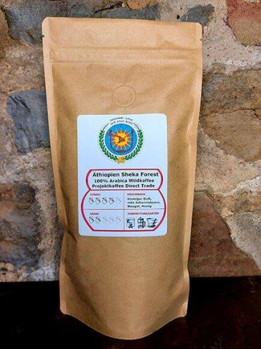 Äthiopien Sheka Forest Kaffee